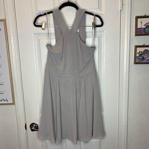 Lulus woman's dress gray size large